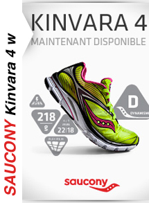Saucony Kinvara 4 Femme