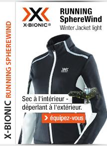 X-bionic veste Running SphereWind