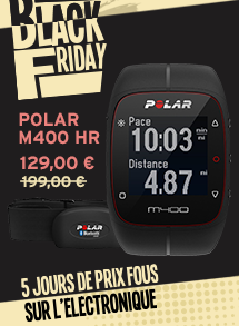 MONTRE POLAR M400 HR