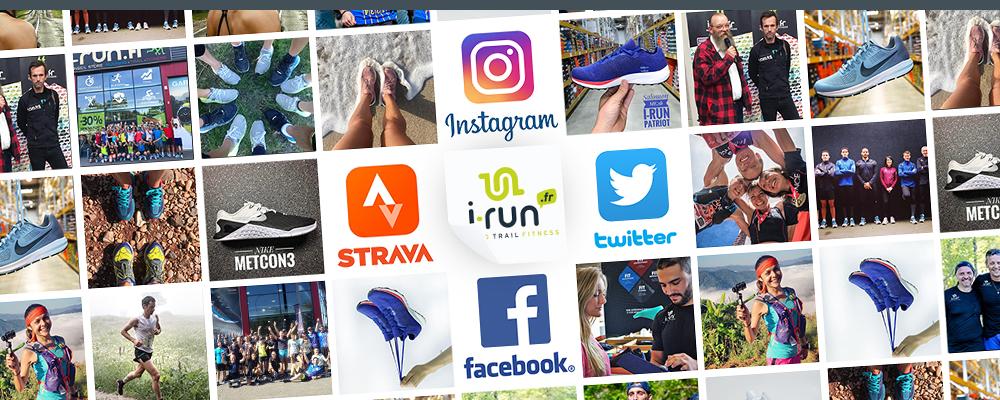 rejoignez la communauté running i-Run
