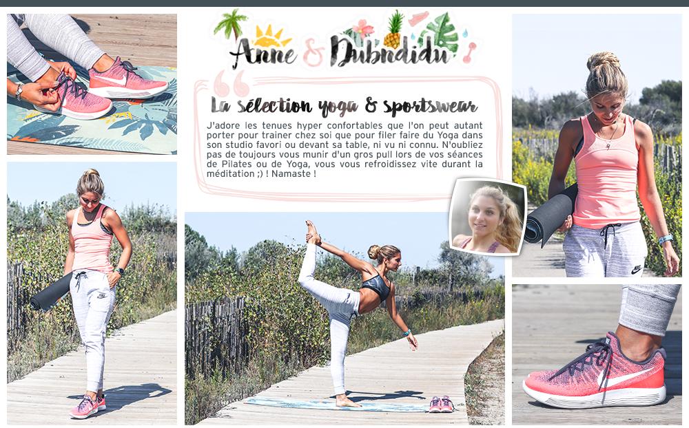 équipement yoga et sportswear anne & dubndidu