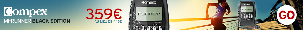 COMPEX MI-RUNNER BLACK EDITION ELECTRO