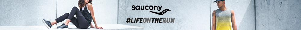 Nouvelle collection Saucony life on the run