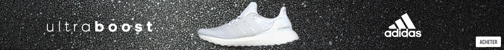 chaussures ultra boos triple white