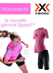 x-bionic speedevo femme