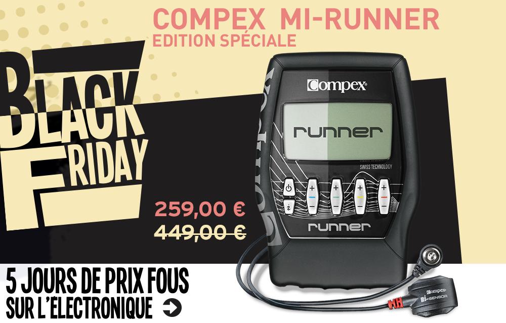 black friday Compex mi-Runner Edition Spéciale