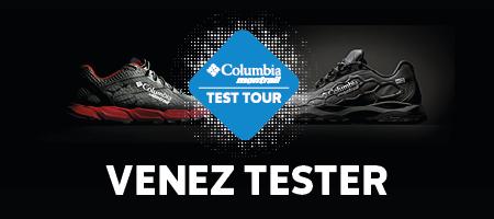 Test tour Caldorado / Bajada - Columbia