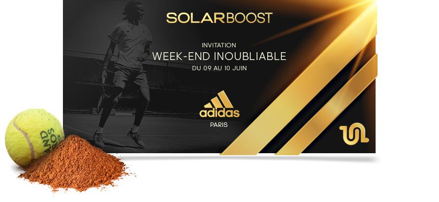 invitation soirée lancement adidas solar boost