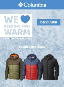 columbia collection homme hiver