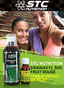STC Nutrition Drainaxyl 500 Fruit Rouge + format pocket offert
