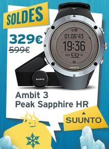 soldes suunto ambit 3 peak sapphire Hr