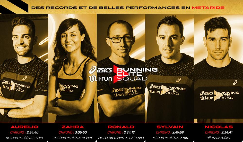 Actualité de la Team ASICS & i-Run