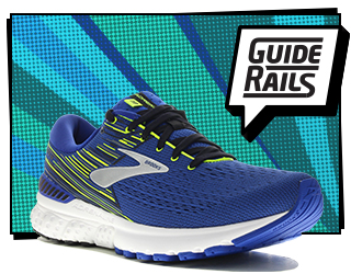 brooks adrenaline 19 guide rails