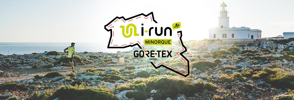 partez avec i-Run et Gore Tex à Minorque