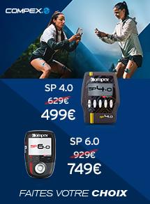 Compex SP 4.0 et SP 6,0