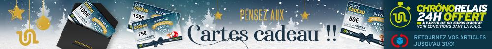 Carte cadeau chronorelais 24h offert