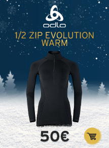 Oldlo 1/2 zip evolution warm