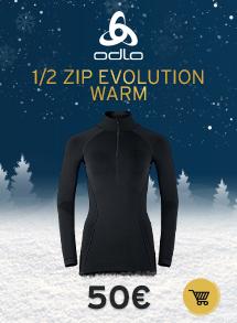 Oldlo 1/2 zip evolution warm