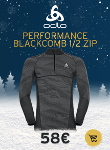 Oldlo performance blackcomb 1/2 zip M