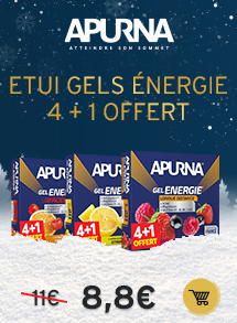 Apurna Etui gels Energie 4 + 1 offert