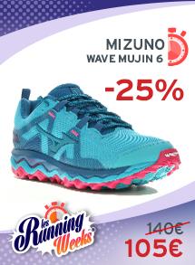 Wave mujin 6 Mizuno Femme
