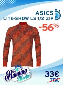 ASICS LITE-SHOW LS 1/2 ZIP homme RW