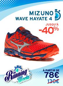 new concept 89394 57adc Mizuno Wave Hayate 4 homme RW