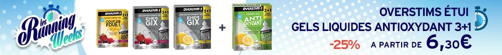 OVERSTIMS Étui Gels Liquides Antioxydant 3+1 RW