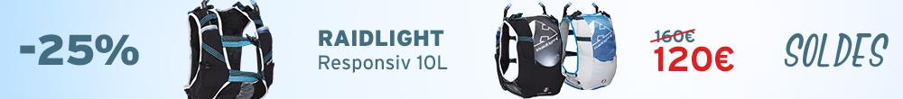 Raidlight Responsiv 10L Soldes