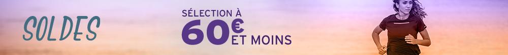 Soldes 60 euros et moins