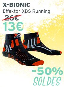 X-Bionic Effektor XBS Running soldes