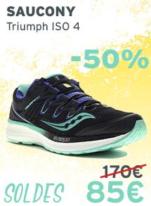 Saucony Triumph ISO 4 femme Soldes