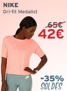 Nike dri-fit medalist soldes