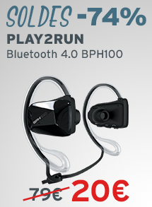 Soldes Play2Run Bluetooth 4.0 BPH100 RW