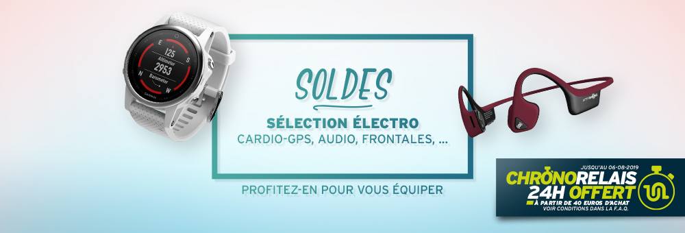 Soldes équipement running electro