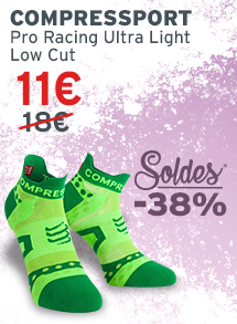 Compresssport Pro racing Ultra light low cut soldes