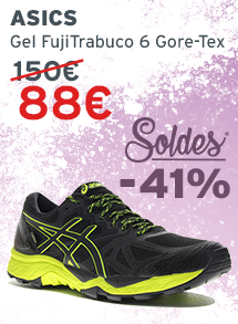 Asics Gel FujiTrabuco 6 Gore-Tex homme soldes