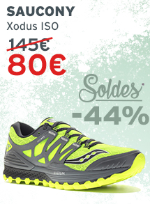 Soldes Saucony Xodus ISO Homme
