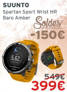 Soldes Suunto Spartan Sport Wrist HR Baro Amber