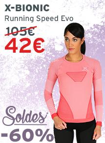 Soldes X-Bionic Running Speed Evo Femme