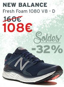 Soldes NB Fresh Foam M 1080 V8 - D homme