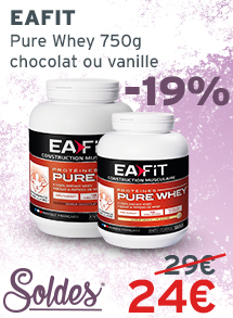 Soldes EA FIT pure Whey 750g