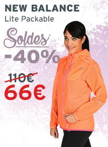 soldes New Balance Lite Packable femme