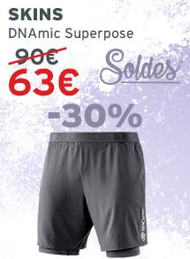 Soldes Skins DNAmic Superpose homme