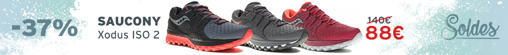Soldes Saucony Xodus ISO 2 Femme