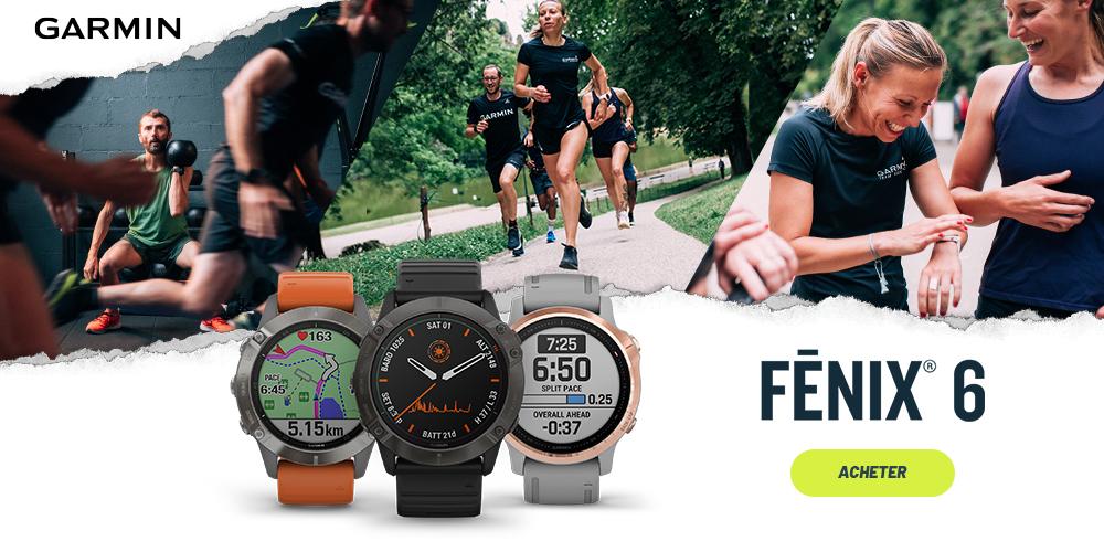 acheter une montre Garmin Fenix 6
