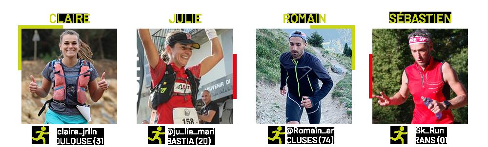 participants i-Run Pyrénées avec Gore-Tex