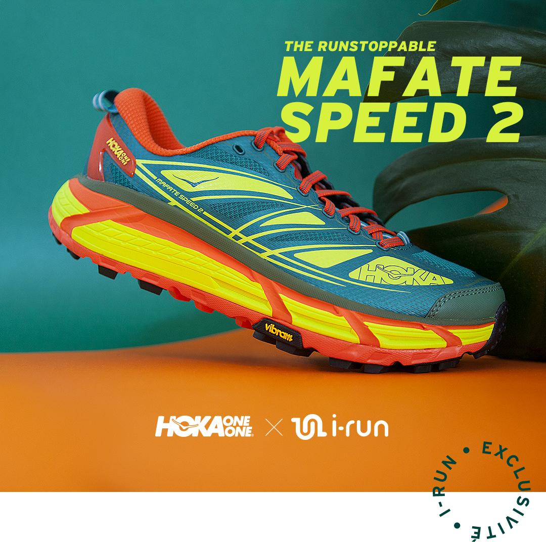 acheter les chaussures de trail Hoka One One Mafate Speed 2 i-Run