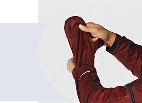 Nike shield gants integrés