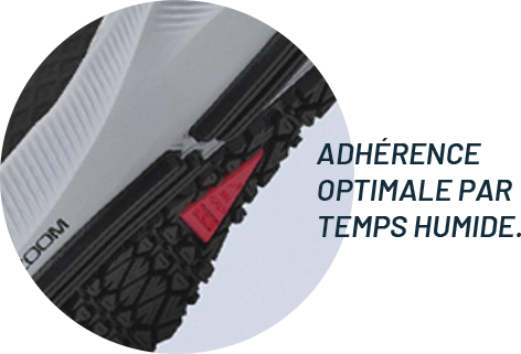 Semelle Nike shield ADHÉRENCE OPTIMALE PAR TEMPS HUMIDE